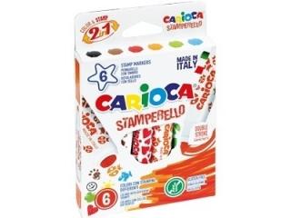 Pisaki CARIOCA Stemple 6 kolorów