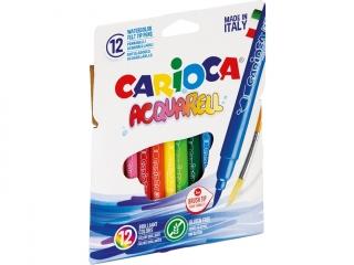 Pisaki CARIOCA Aquarel 12 kolorów