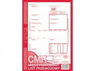 Druk 800-3N CMR Miêdzynarodowy list przewozowy (numerowany)