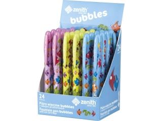 Pióro wieczne ZENITH Bubbles - display 24 sztuki
