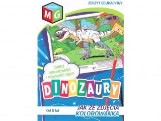 Kolorowanka MULTIGRA Jak ze zdjêcia - Dinozaury