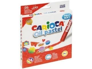 Pastele olejne CARIOCA 24 kolory