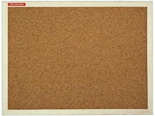 Tablica korkowa budget 30x40cm w ramie drewnianej