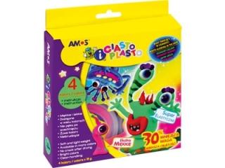 Ciastolina CiastoPlasto IC18P4S, Amos