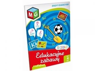 Zeszyt edukacyjny z naklejkami MULTIGRA Edukacyjne zabawy