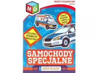 Ksi±¿eczka MULTIGRA Super pojazdy - Samochody specjalne