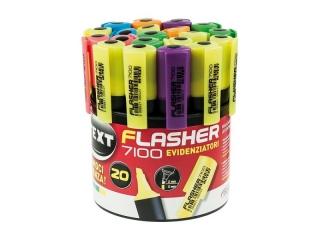 Zakre¶lacz FLASHER x20 Tuba mix kolorów