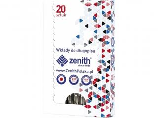 Wk³ad wielkopojemny Zenith 4 - box 20 sztuk, czerwony