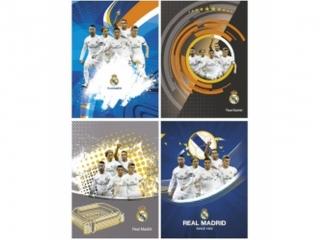 Zeszyt A5 16k. ASTRA Real Madrid 2 trzy linie kolor