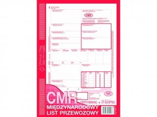 Druk -CMR A4 ( oryg.+ 4 kopie )