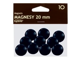 Magnesy, ¶rednica 20 mm, Grand
