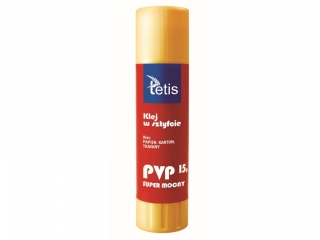 Klej w sztyfcie TETIS typu PVP - 15g