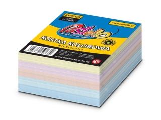 Kostka nieklejona kolor 85x85 mm 400 kartek ECO
