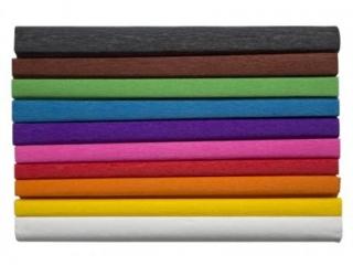 Bibu³a marszczona 25x200cm, MIX A, Happy Color [opakowanie=1