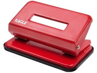 Dziurkacz EAGLE 707 A czerwony 10 kartek