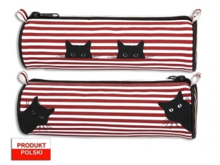 Piórnik tuba WARTA 626 koty - czerwony