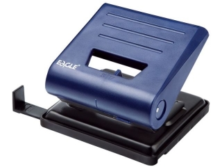 Dziurkacz EAGLE 837 L niebieski 25 kartek