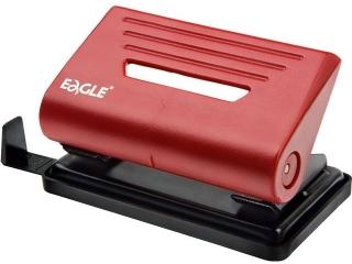 Dziurkacz EAGLE 837 S czerwony 10 kartek