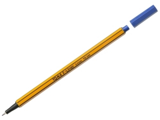 Cienkopis TOMA F-Liner 0,4mm, pomarañczowa obudowa. niebieski