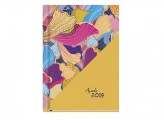 Kalendarz ksi±¿kowy MP A5 Agenda 2021 Wzory plemienne