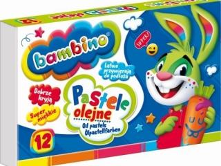 Pastele olejne BAMBINO 12 kolorów