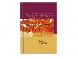 Kalendarz ksi±¿kowy MP A5 Agenda 2021 Flora