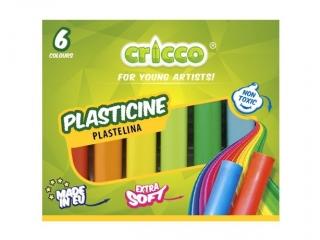 Plastelina CRICCO 6 kolorów
