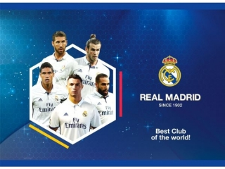 Blok rysunkowy A4 20k. ASTRA Real Madrid 3