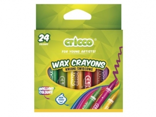 Kredki ¶wiecowe CRICCO 24 kolory