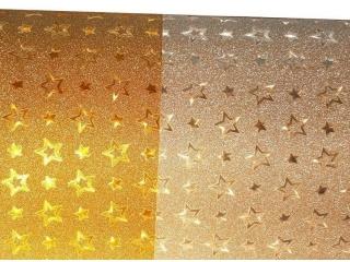 Karton A2 220gr. brokat Stars (1op.=20ar.)