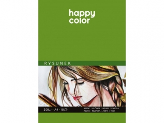 Blok do rysunku HAPPY COLOR Art A4 15k. 300g