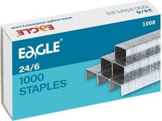 Zszywki EAGLE 23/6 zszywaja do 30 kartek