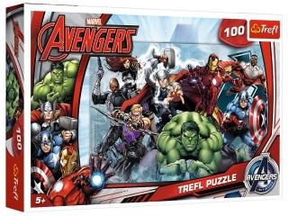 Puzzle  100 TREFL Avegers - Do Ataku (16272)