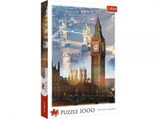 Puzzle 1000 TREFl Londyn o ¶wicie