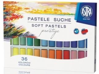 Pastele suche Astra Prestige okr±g³e 36 kolorów
