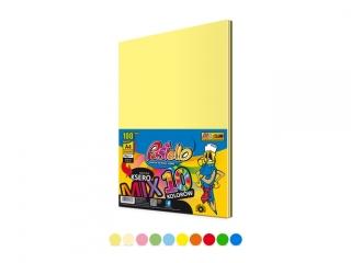 Papier ksero A4 mix 10 kolorów 100 arkuszy INTES/PASTEL PAS-