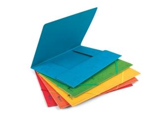 Teczka tekturowa 400 g PRESZPAN MIX Kolorów [opakowanie=10sz