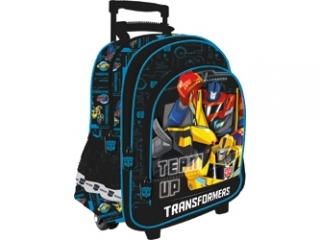 "Plecak 43cm (17"") na kó³kach MAJEWSKI Transformers"