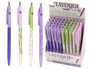 D³ugopis automatyczny Lavender, niebieski, ró¿ne motywy, 0.5
