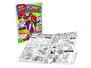 Kolorowanka ALEXANDER Komiks - Mega pochodnia i w³adca umys³ów