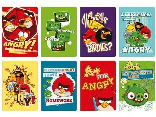 Zeszyt A5 60k. INTERDRUK UV Angry Birds Classic kratka