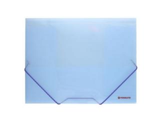 Teczka z gumk± PENMATE A4 PP 4161L niebieska