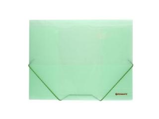 Teczka z gumk± PENMATE A4 PP 4161L zielona