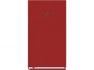 Kalendarz kieszonkowy MP 2021  - bordo