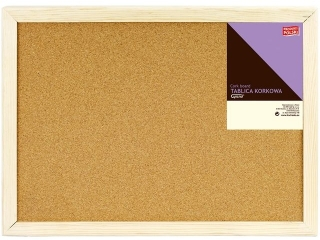 Tablica korkowa GRAND rama drewniana 50/80 - 5005