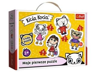 Puzzle Baby Classic TREFL Weso³a Kicia Kocia