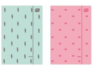 Teczka z gumk± A4+ INTERDRUK Soft touch