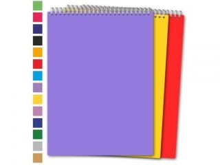 Ko³obrulion A5 80k. PENMATE mix pastelowy, kratka