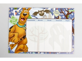 Plan lekcji z magnesem BENIAMIN Scooby Doo
