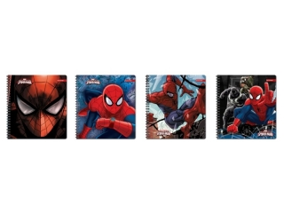 Ko³onotatnik na spirali 80k. BENIAMIN Spider-Man
